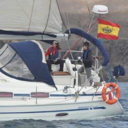 Practicas de vela, academia náutica Lanzarote